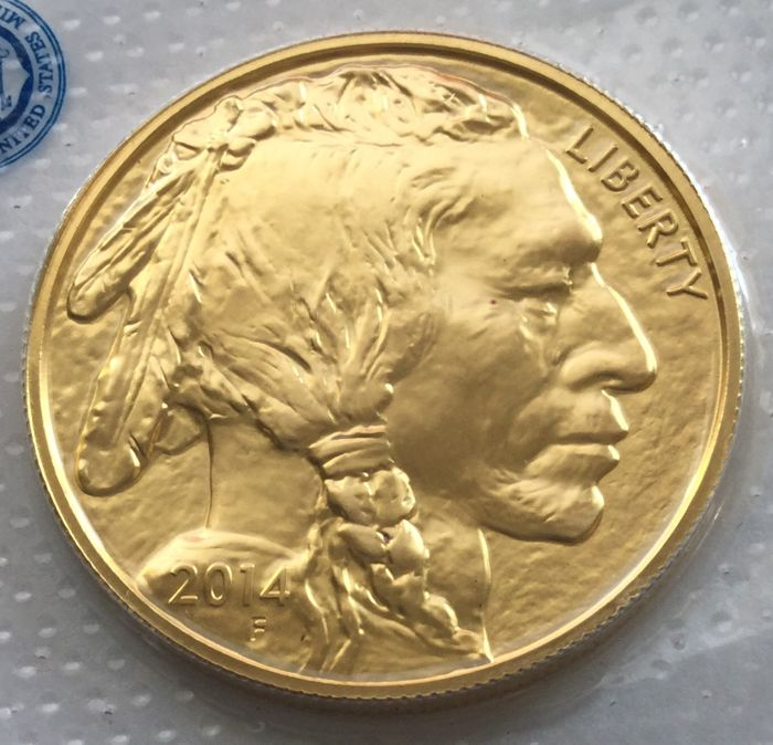 United States – 50 dollars 2017 'American Buffalo' – 1 oz gold