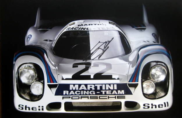 Decorative object - Porsche 917 Kurtzheck#22 Van Lennep Winner Le Mans - 1971 (1 items)
