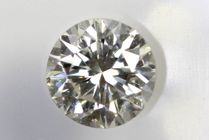 AIG Sealed Diamond - 0.34  ct - H , SI1 - Excellent Cut