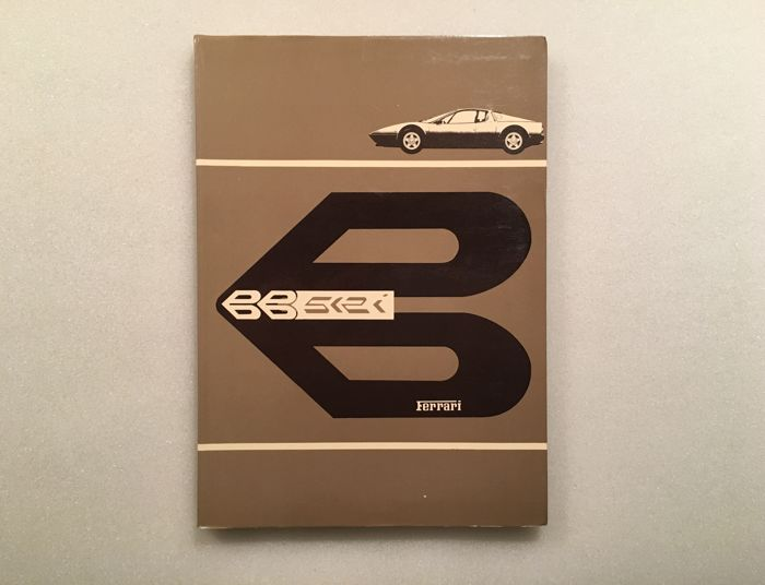 Ferrari BB512i Berlinetta Boxer owner's manual 1981