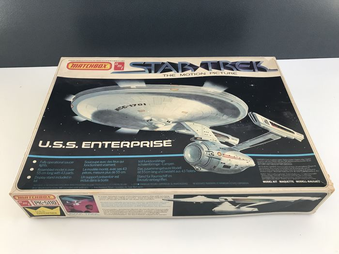 Star Trek - Matchbox - U.S.S. Enterprise