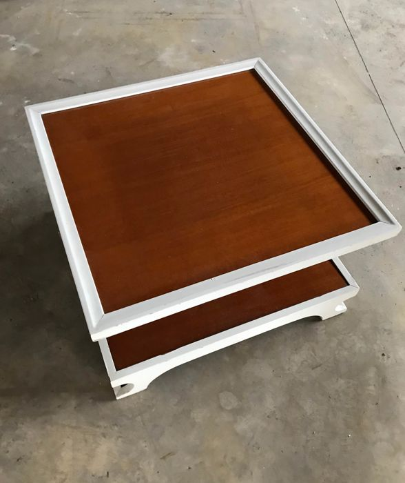 Designer unknown - Italian wood coffee table - ca. 1970 - Italy