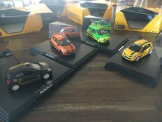 "Norev - Scale 1/43 - Lot with 4 models: 4 x x Clio 3 R.S.  ""Clio Cup"""