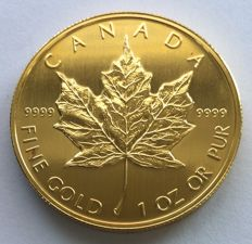 Canada - 50 dollars 1990 'Maple Leaf' - 1 oz gold