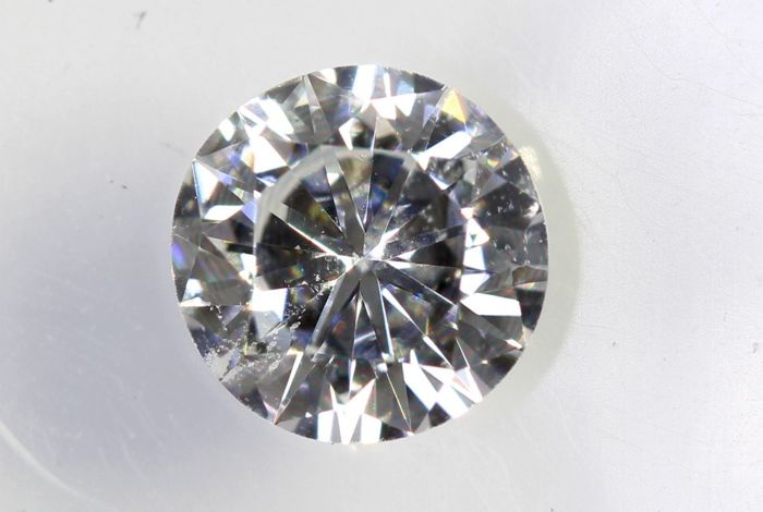AIG Sealed Diamond - 0.39 ct - E, SI1