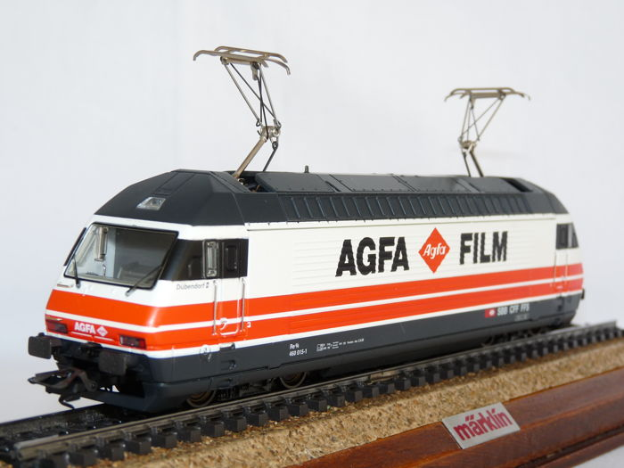 "Märklin H0 - 83463 - Locomotive électrique - Serie 460 Re 4/4, ""Agfa en Film"" - SBB-CFF"