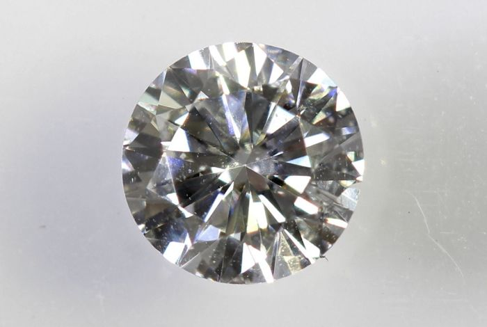 AIG Sealed Diamant - 0.37  ct - F , SI2 - Excellent Cut