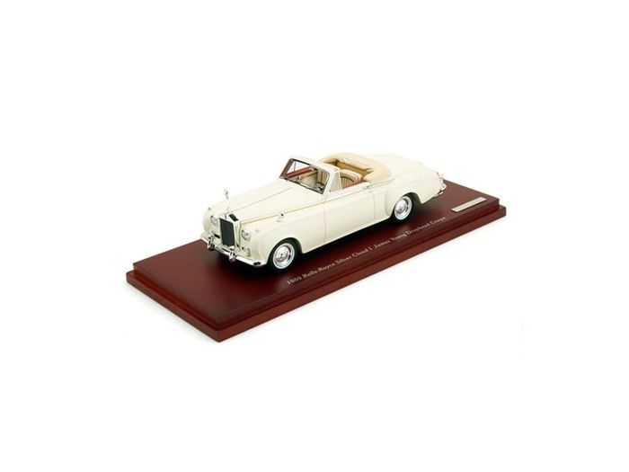 TSM Model - Schaal 1/43 - Rolls-Royce Silver Cloud I James Young Drophead Coupe 1959