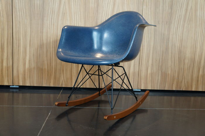 Eames Rocking Chair : Charles ray eames for herman miller eames office fibre glass