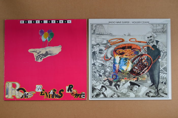 2 albums by the late Holger Czukay