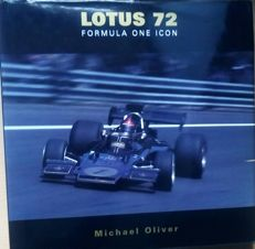 Lotus 72 formula one icon collectors book