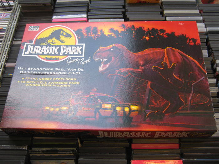 Very special Boardgame Jurrasic Park from 1990-1995