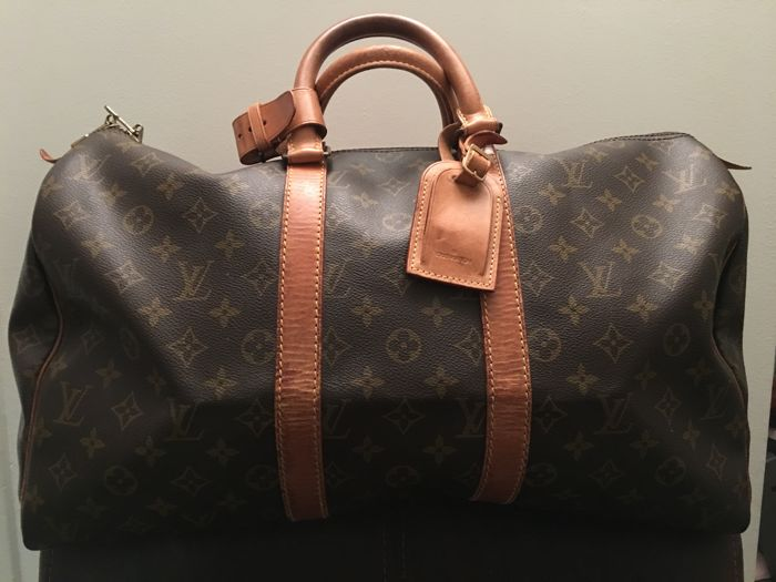 1d21ac93045 Louis Vuitton - Monogram Keepall 45 Weekend bag - Vintage - Catawiki