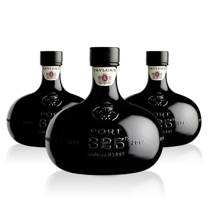 Taylors 325th Anniversary Port - 3 bottles à 0,75 L