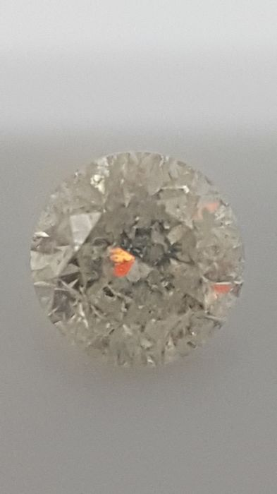 1.43 ct - Round Brilliant - White - G / I1