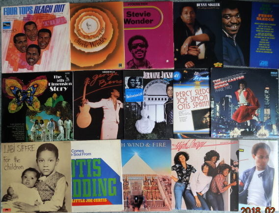 15 Albums (20 LP's) of Soul and Rythm & Blues.
