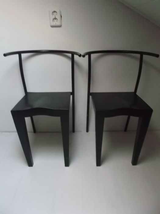 Philippe Starck for Kartell - 2 'Dr Glob' chairs