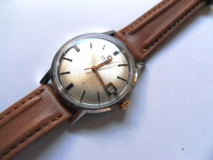Omega - AUTOMATIC DATE -  Date All S/S - Heren - 1960-1969