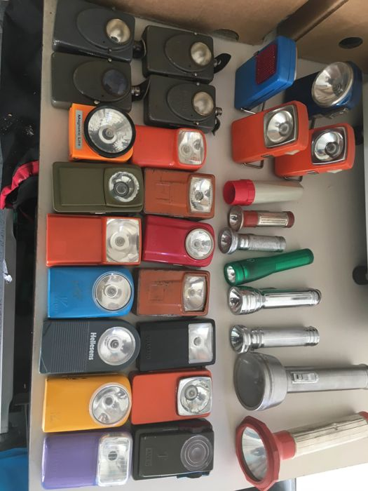 Collection of flash lights