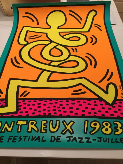 Keith Haring - Montreux Jazz Festival 1983