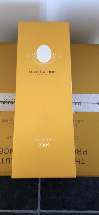 2009 Louis Roederer Cristal - 6 bottles (75cl) in original boxes