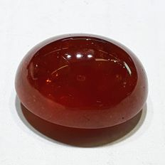 Fine Red spasatite garnet -  37.44 ct