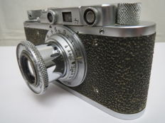 """The very first """"FED"""". №585857. Copy of """"Leica II""""."""