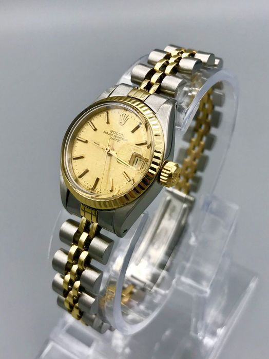 rolex oyster perpetual datejust lady 6917 damen 1970 1979 catawiki. Black Bedroom Furniture Sets. Home Design Ideas