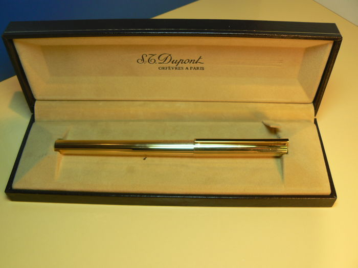 Gold Plated Dupont Fountain Pen