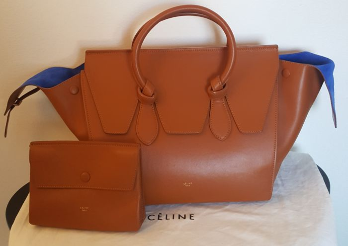 Céline - Tie Tote with Clutch/ Wallet Sac à main