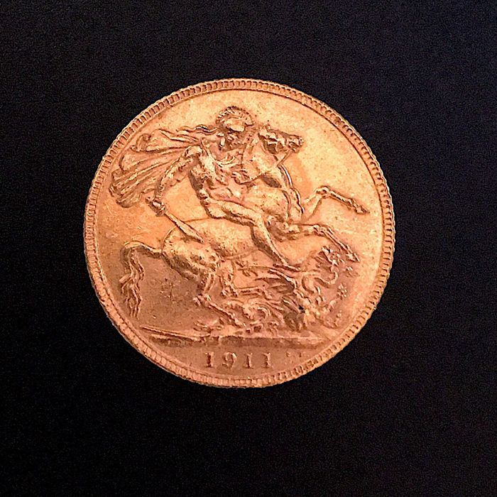 Great Britain - Sovereign 1911 George V - Gold
