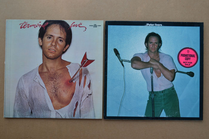 2 unusual albums by the late Peter Ivers