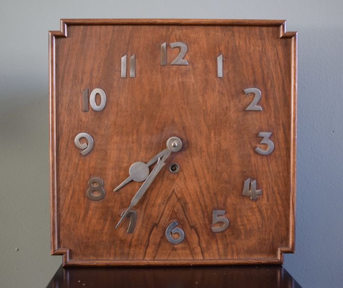 Art Deco wall clock - 1920s
