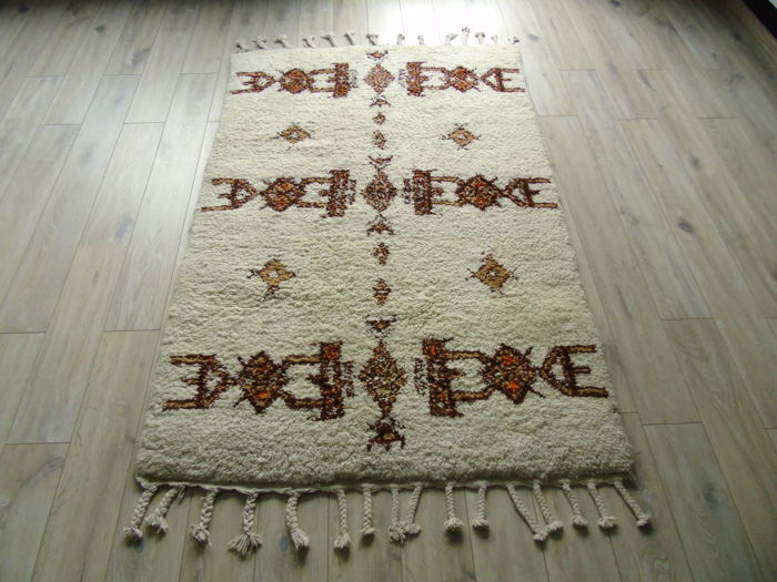 Hand Knotted Morocco Carpet 120 x 220cm