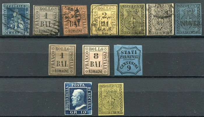 Antique States 1851/59 - Selection classics