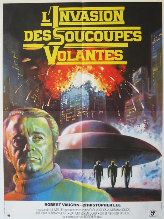 Landi / Tealdi - Starship Invasions (Robert Vaughn / Christopher Lee) - 1977