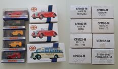 Dinky-Matchbox Collectables - Scale 1/43 - Lot with 16 models: Ford, Commer, Land Rover, Austin, Triumph, Mercedes, BMW