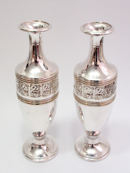 Fine Quality Pair Of Vases By CK & Co Tiel Holland