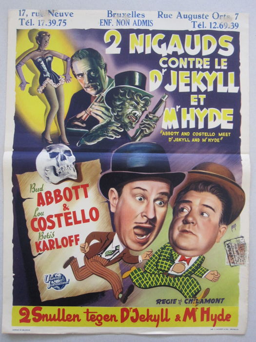Anonymous - Abbott and Costello meet Dr. Jekyll and Mr. Hyde - 1953