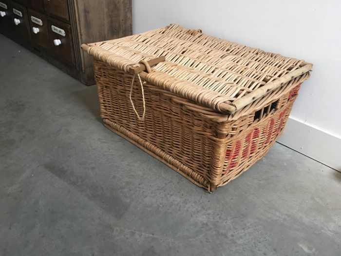 Industrial Laundry Basket, circa 1920