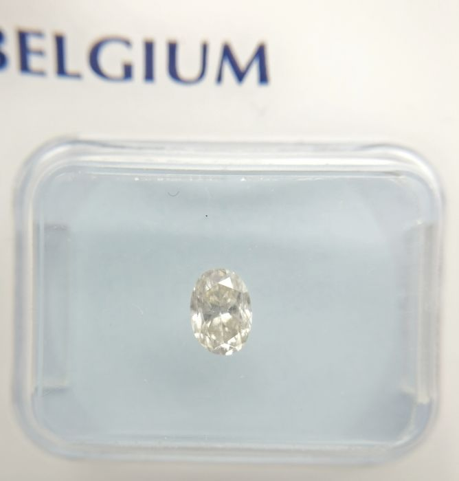 0.36 ct Oval cut diamond H VVS2 *** Low Reserve ***