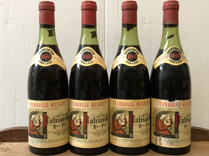 1969 Chambolle-Musigny , Patriarche Pere et Fils  - Total 4 Bottles