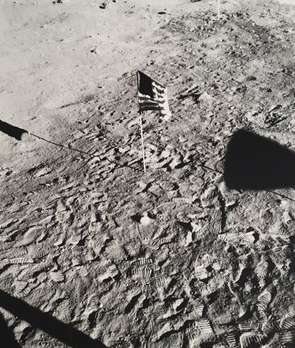 NASA - Apollo 11, 'Stars and Stripes On The Moon', 1969