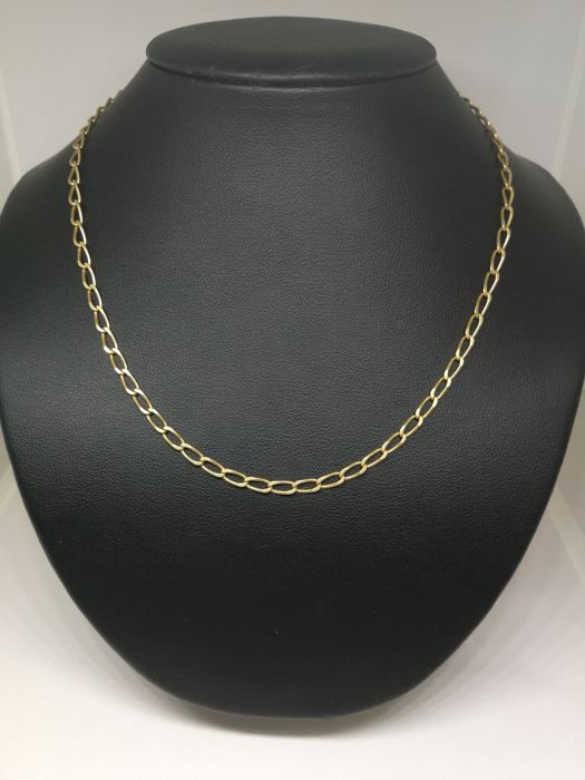Chain of 18 kt (750) gold - 55.5 cm