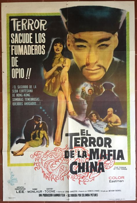 Anonymous - L'Empreinte du dragon rouge / The Terror of the tongs (Christopher Lee) - 1961