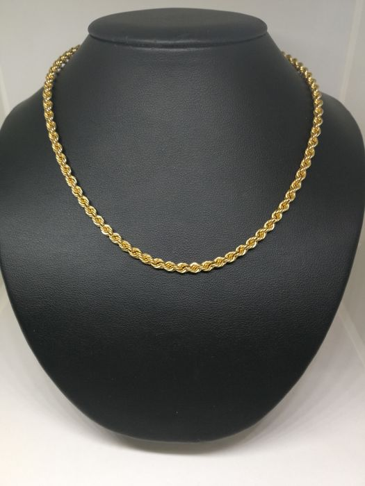 Cord of 18 kt (750) gold - 59 cm