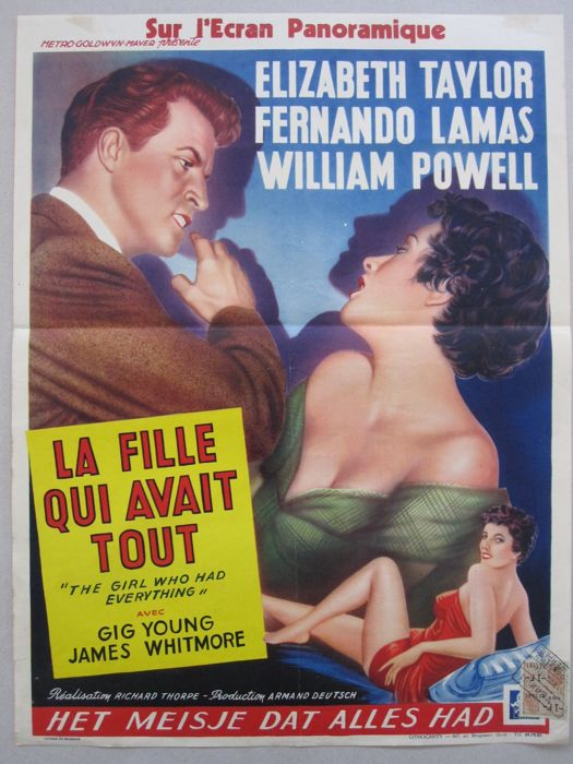 Anonymous -  The Girl Who Had Everything (Elizabeth Taylor) - 1953