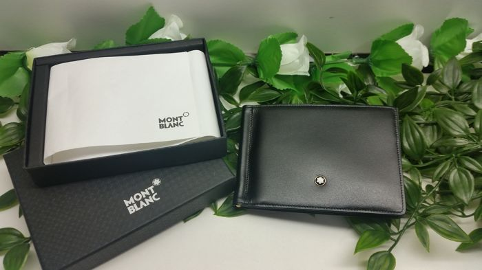 Montblanc Meisterstuck wallet card-holder clip
