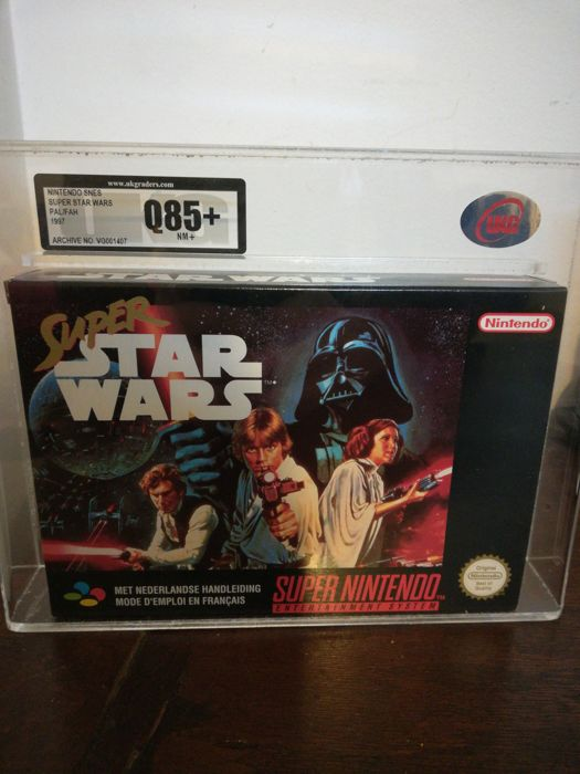 Games Nintendo snes Super star wars Year 1997 - Uk graders
