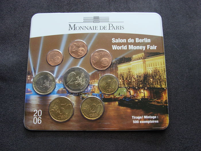 "Frankrijk - Jaarset ""World Money Fair 2006"" in blister"